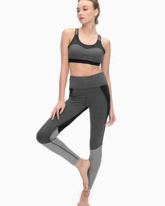 Splendid Yoga High Waisted Heather Block Legging
