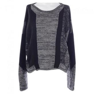 Helmut Lang Grey Silk Knitwear for Women