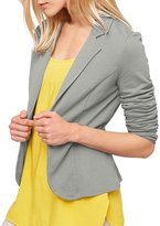Azbro Women's Open Front Casual Short Suit Blazer, XL