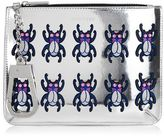 Skinnydip **okapi bug clutch bag