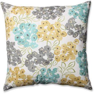 """Pool' Luxury Floral Pool 24.5"""" Floor Pillow"""