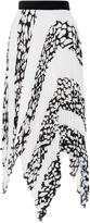 Proenza Schouler Printed Cotton-Voile Skirt