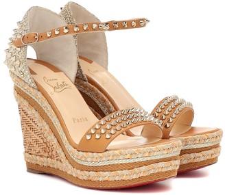 Christian Louboutin Madmonica 120 espadrille sandals