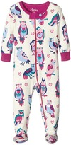 Hatley Happy Owls Footed Coverall (Infant)