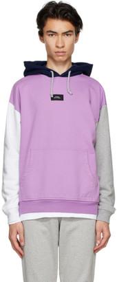 Rassvet Pink Colorblocked Hoodie