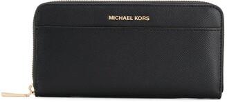 MICHAEL Michael Kors Textured Zip Wallet