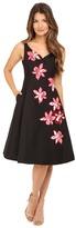 Kate Spade Tiger Lily Applique Dress