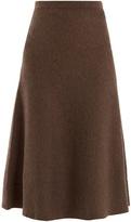 GABRIELA HEARST Freddie A-line wool-blend midi skirt