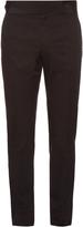 Dolce & Gabbana Cummerbund-waist side-stripe tuxedo trousers
