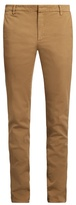 Kenzo Slim-leg Cotton-blend Gabardine Chino Trousers