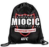 Stringiing Drawstring Backpack Bag UFC Stipe Miocic Heavyweight Champion