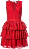 Alice + Olivia Alice+Olivia sleeveless ruffled dress