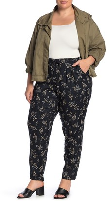 Junarose Jrarya Ditsy Floral Print Pants (Plus Size)