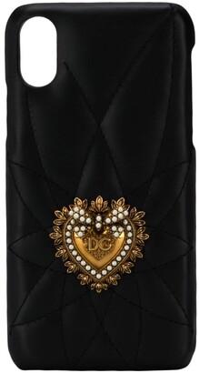 Dolce & Gabbana heart plaque iPhone X/Xs case