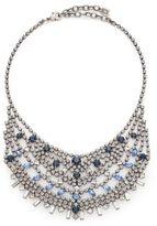 Dannijo Steinem Swarovski Crystal Bib Necklace
