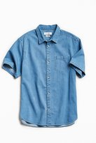 Urban Outfitters Stevens Denim Short Sleeve Button-Down Shirt