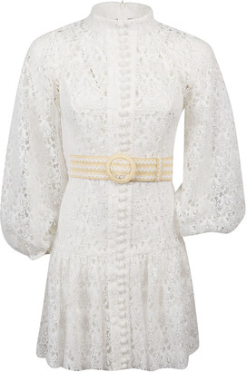Zimmermann Empire Short Dress