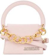 Jacquemus chain detail shoulder bag