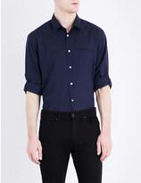 John Varvatos Slim-fit cotton shirt