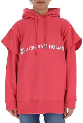 MM6 MAISON MARGIELA Logo Hooded Sweatshirt