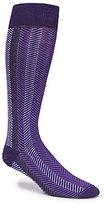 Daniel Cremieux Zig Zag Over-the-Calf Dress Socks