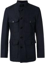 Tom Ford classic field jacket - men - Silk/Cotton/Linen/Flax/Cupro - 50