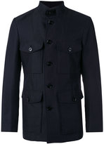 Tom Ford classic field jacket - men - Silk/Cotton/Linen/Flax/Cupro - 52