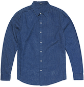 Denham Ellis Dot Shirt, Indigo