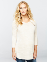 A Pea in the Pod Lace Maternity Top