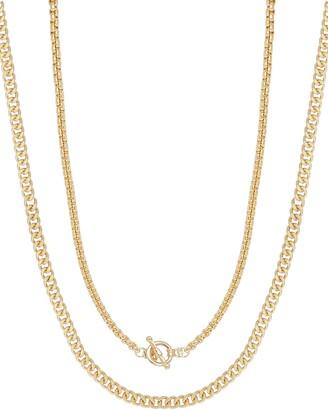 Ettika Set of 2 Layering Necklaces