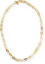 Ashley Pittman Mini Mara Light Horn Necklace, 35""