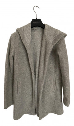 Brandy Melville Grey Wool Coats