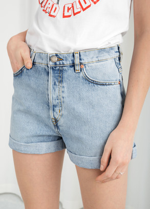 And other stories Denim Mini Shorts