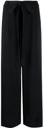 AllSaints High-Waisted Crepe Trousers