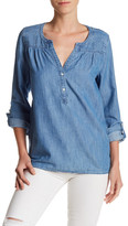 Joie Mayleen Split Neck Blouse