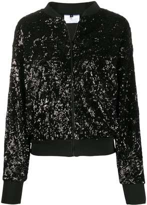 Alchemy Sequinned Bomber Jacket