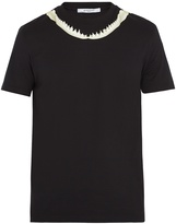 Givenchy Shark Jaw-print Cuban-fit T-shirt