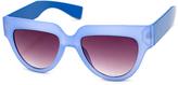 A. J. Morgan Blue Lollipop Sunglasses