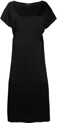 Andrea Ya'aqov Drawstring-Waist Midi Dress