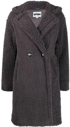 Apparis Anouck faux-shearling oversized coat