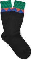 Prada Patterned Cotton Socks