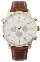Tommy Hilfiger Brown Leather Strap Watch