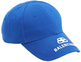 Balenciaga Bb Cotton Baseball Hat