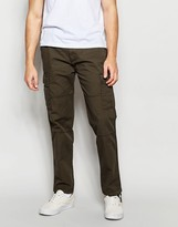 Abercrombie & Fitch Cargo Pants In Olive