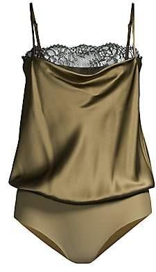 CAMI NYC Women's Romy Silk Bodysuit