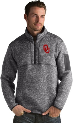 Antigua Men's Oklahoma Sooners Fortune Pullover