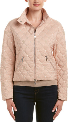 Moncler Puffer Silk-Lined Jacket