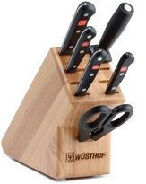 Wusthof Gourmet 7-Piece Starter Knife Block Set in Natural
