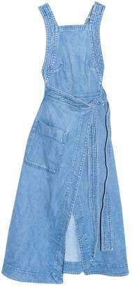 Stella McCartney Stella Mc Cartney Blue Denim - Jeans Dresses