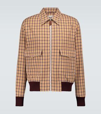 Lanvin Herrington checked jacket